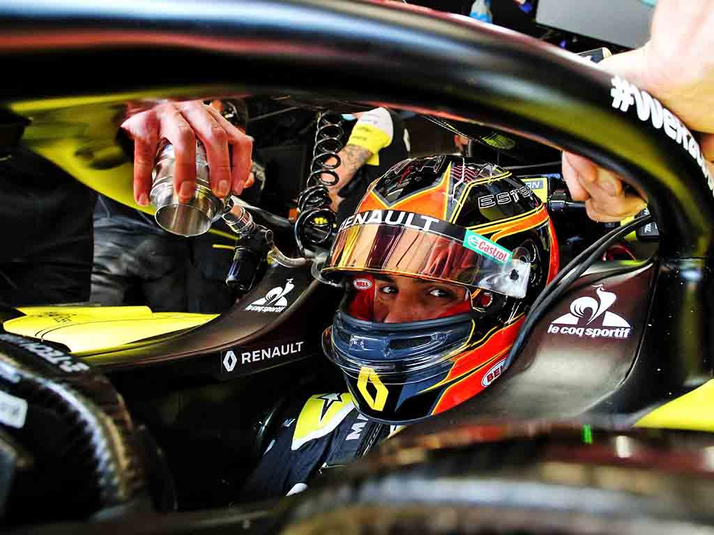 2020 Spanish Grand Prix Ocon Crash