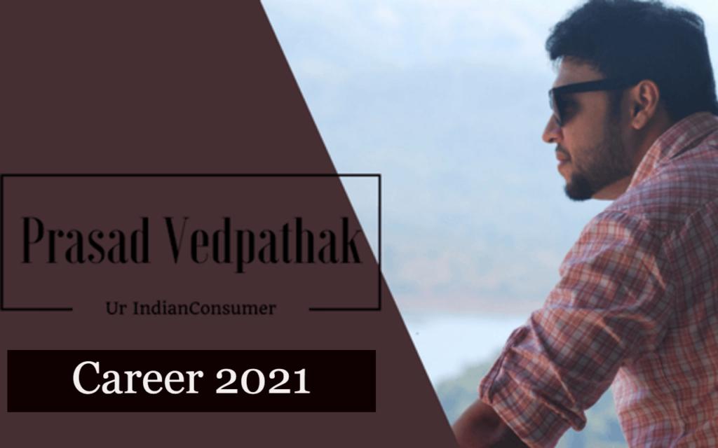 Career 2021 Prasad Vedpathak
