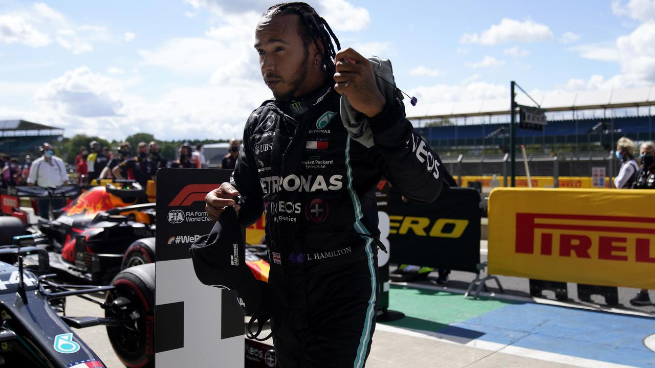 Lewis Hamilton Creates New Track Record