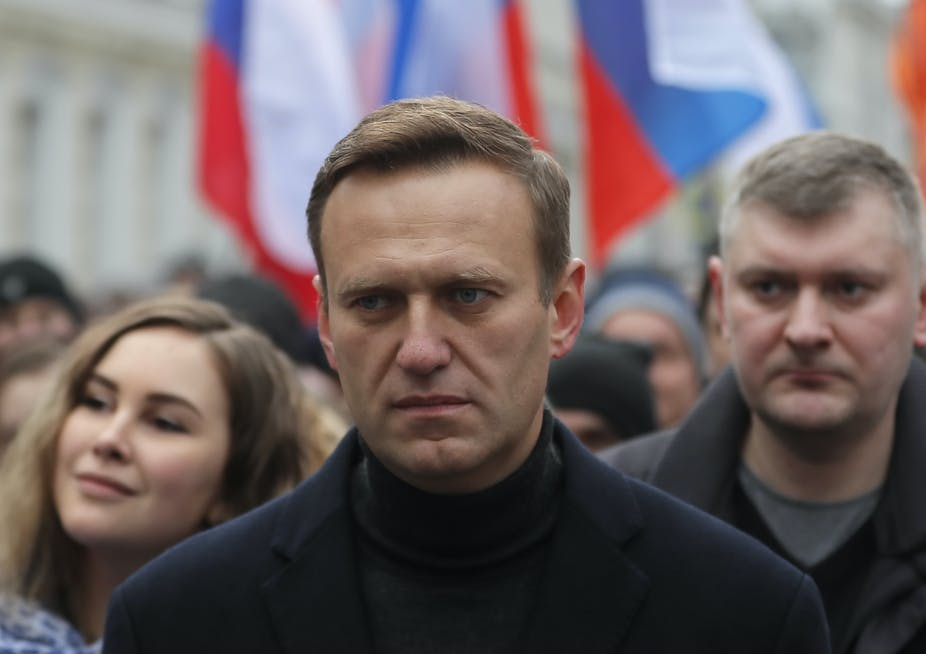 German Government Confirm Tha Alexei Navalny was Poisoned