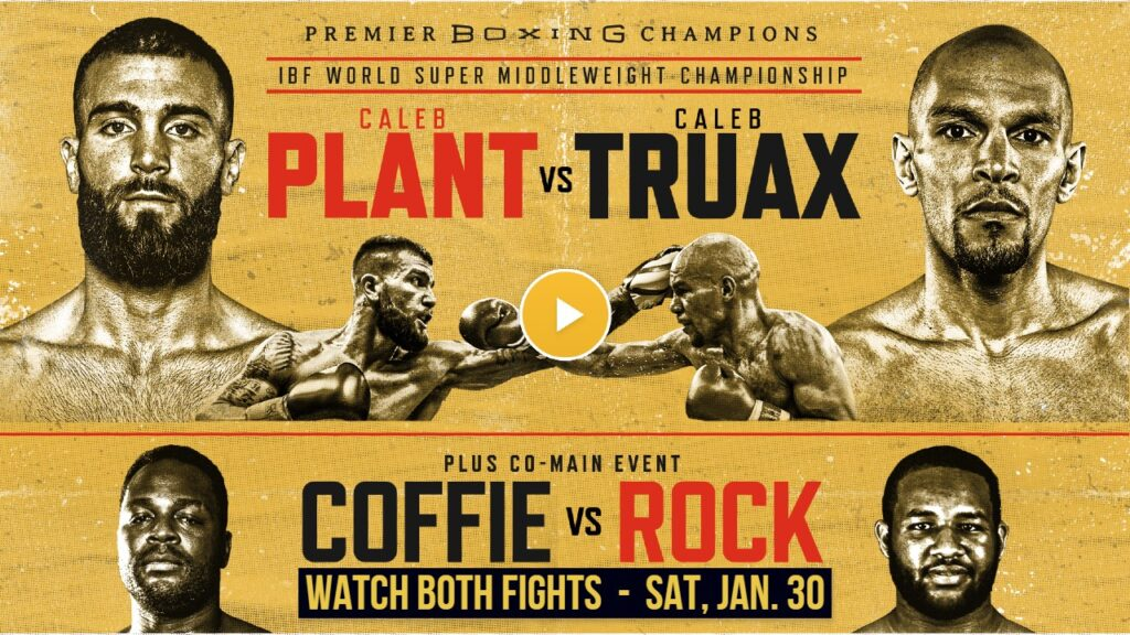 Caleb Plant has to defend his title against Caleb Truax