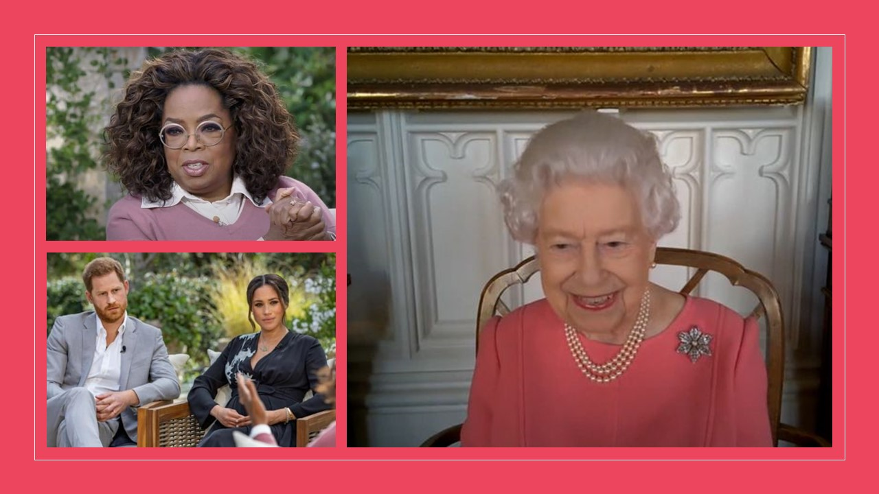 Oprah Winfrey drives the Queen out of silence on the Megxit row