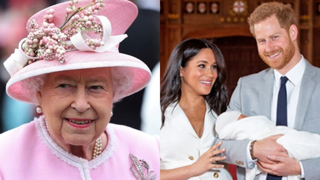 Was the Queen consulted before Prince Harry & Meghan named their daughter Lilbet Diana