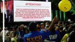 Hurricane Henri interrupts NYC comeback concert as storm nears coast