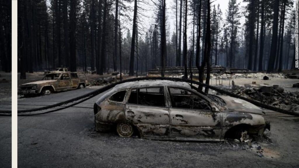 Caldor Fire grows to more than 98k acres as US sees 94 active large fires nationwide