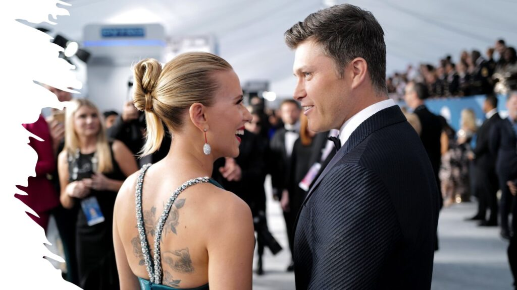 Scarlett Johansson embraces parenthood with Colin Jost