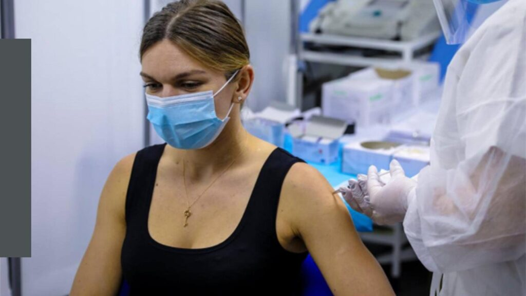 Simona Halep believes that people should vaccinate faster to get the world back to normal